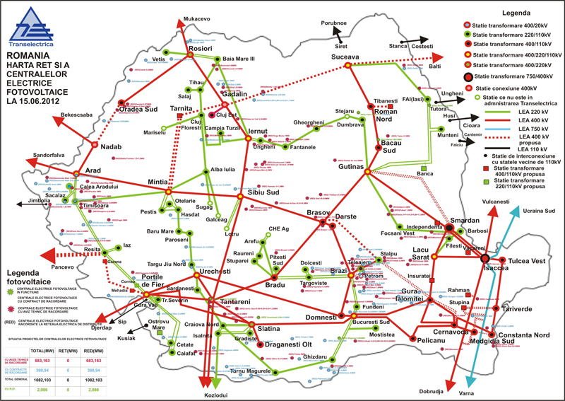 Tlespveu Photovoltaic Systems Solution In Romania Download Area - Romania in us map